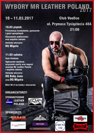 Wybory Mr Leather Poland 2017
