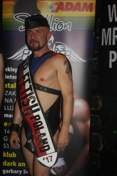 MISTER FETISH POLAND 2017 SUCCESSFULLY ELECTED!