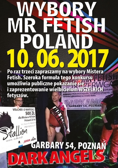 Wybory Mr Fetish Poland 2017