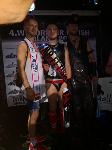 MR FETISH POLAND 2018 SUCCESSFULLY ELECTED!